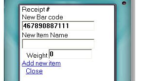 New item Mobile Inventory system software