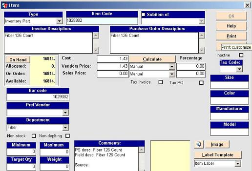Inventory Tracking Software For Sales And Asset - Invoice control software